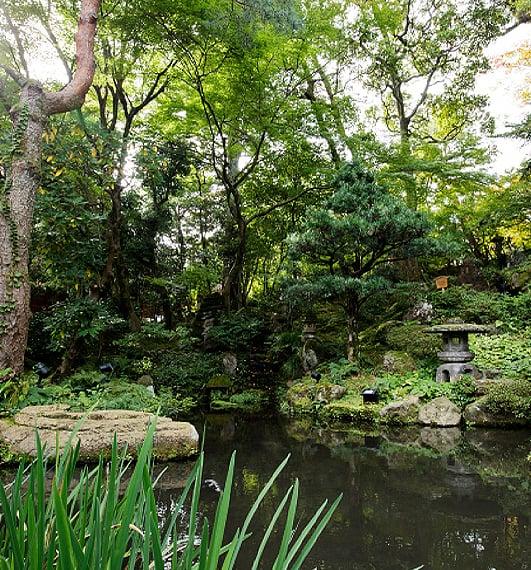 玉澗樣庭園